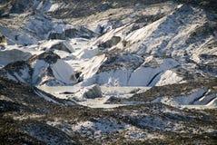 στενός παγετώνας επάνω Στοκ Φωτογραφίες