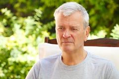 στενός πρεσβύτερος πορτρέτου ατόμων επάνω Στοκ Εικόνες