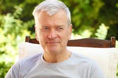 στενός πρεσβύτερος πορτρέτου ατόμων επάνω Στοκ Φωτογραφίες