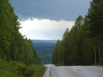 στενός δρόμος Στοκ Εικόνες