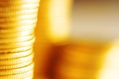 στενός χρυσός νομισμάτων &epsilo Στοκ Εικόνες