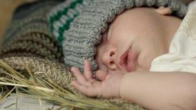 στενός ύπνος μωρών επάνω φιλμ μικρού μήκους