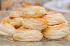 στενός croissant επάνω Στοκ Φωτογραφία