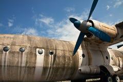 στενό αεριωθούμενο αερ&omi Στοκ φωτογραφία με δικαίωμα ελεύθερης χρήσης