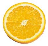 στενό απομονωμένο πορτοκαλί λευκό φετών ανασκόπησης επάνω Στοκ φωτογραφίες με δικαίωμα ελεύθερης χρήσης