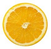 στενό απομονωμένο πορτοκαλί λευκό φετών ανασκόπησης επάνω Στοκ φωτογραφία με δικαίωμα ελεύθερης χρήσης
