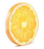 στενό απομονωμένο πορτοκαλί λευκό φετών ανασκόπησης επάνω Στοκ Εικόνες