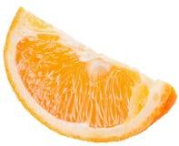 στενό απομονωμένο πορτοκαλί λευκό φετών ανασκόπησης επάνω Στοκ εικόνα με δικαίωμα ελεύθερης χρήσης