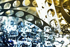 στενό απόρριμα μετάλλων επά&n Στοκ φωτογραφία με δικαίωμα ελεύθερης χρήσης