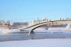 στενό γεφυρών Στοκ Εικόνες