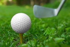 στενό γκολφ σφαιρών επάνω Στοκ Φωτογραφία