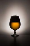 στενό γυαλί μπύρας επάνω Στοκ φωτογραφίες με δικαίωμα ελεύθερης χρήσης