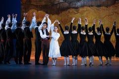 Στενό δεσμός-μπαλέτο το κορίτσι από Arles Στοκ φωτογραφία με δικαίωμα ελεύθερης χρήσης