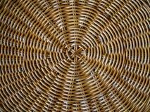 Στενό επάνω σχέδιο καλαθοπλεχτικής στοκ φωτογραφίες