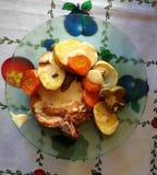 στενό λευκό χοιρινού κρέατος κρέατος ανασκόπησης επάνω Στοκ φωτογραφίες με δικαίωμα ελεύθερης χρήσης