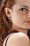 στενό κορίτσι επάνω Στοκ φωτογραφία με δικαίωμα ελεύθερης χρήσης