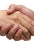 στενό κούνημα χεριών επάνω Στοκ φωτογραφία με δικαίωμα ελεύθερης χρήσης