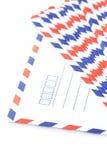στενό λευκό φακέλων επάνω Στοκ φωτογραφία με δικαίωμα ελεύθερης χρήσης