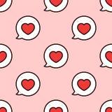 στενό μήνυμα αγάπης που αυξάνεται επίσης corel σύρετε το διάνυσμα απεικόνισης Στοκ Εικόνες
