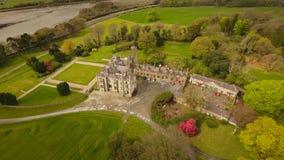 Στενό νερό Castle Newry νομός κάτω Ιρλανδία Στοκ φωτογραφία με δικαίωμα ελεύθερης χρήσης