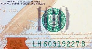 στενό δολάριο λογαριασ& Στοκ Εικόνες