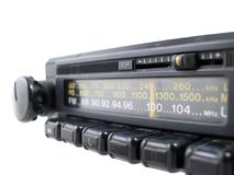 στενό παλαιό ραδιόφωνο fm επά Στοκ Φωτογραφίες