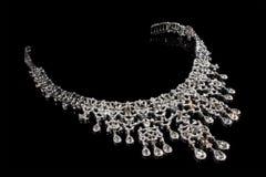 στενό περιδέραιο διαμαντ&io στοκ φωτογραφίες