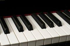 στενό πιάνο πλήκτρων επάνω Στοκ φωτογραφία με δικαίωμα ελεύθερης χρήσης