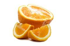στενό πορτοκάλι επάνω Στοκ Εικόνες