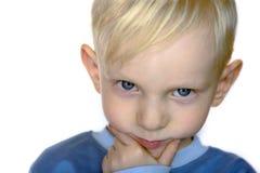 στενό πορτρέτο αγοριών επάν& Στοκ Εικόνες