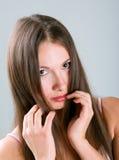 στενό πορτρέτο επάνω στις ν&e στοκ εικόνες με δικαίωμα ελεύθερης χρήσης