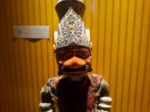 Στενό πορτρέτο στη μαριονέτα στο παλαιό μουσείο μαριονετών πόλεων της Τζακάρτα στοκ εικόνες με δικαίωμα ελεύθερης χρήσης