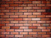 στενό πρότυπο τούβλου επάνω στον τοίχο Στοκ Εικόνες