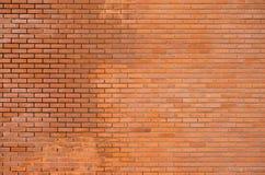 στενό πρότυπο τούβλου επάνω στον τοίχο Στοκ Φωτογραφίες