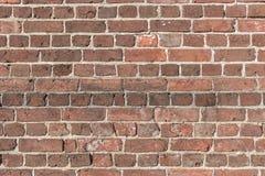 στενό πλάνο τούβλου ανασκόπησης επάνω Στοκ Φωτογραφία