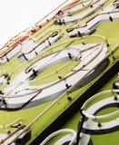 στενό σημάδι νέου επάνω Στοκ φωτογραφία με δικαίωμα ελεύθερης χρήσης