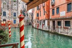 Στενό στη Βενετία Στοκ φωτογραφία με δικαίωμα ελεύθερης χρήσης