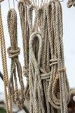 στενό σχοινί καλημάνων επάν&ome Στοκ φωτογραφία με δικαίωμα ελεύθερης χρήσης