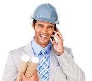 στενό τηλέφωνο αρχιτεκτόν&ome Στοκ εικόνα με δικαίωμα ελεύθερης χρήσης