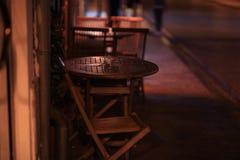 Στενό τοπίων νύχτας Στοκ εικόνες με δικαίωμα ελεύθερης χρήσης