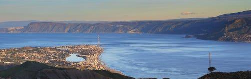 στενό του Μεσσήνη Στοκ φωτογραφία με δικαίωμα ελεύθερης χρήσης