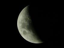 στενό φεγγάρι επάνω Στοκ Εικόνες