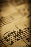 στενό φύλλο μουσικής επάν& Στοκ εικόνα με δικαίωμα ελεύθερης χρήσης