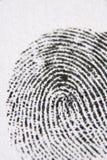 στενό δακτυλικό αποτύπωμ&alp Στοκ φωτογραφία με δικαίωμα ελεύθερης χρήσης