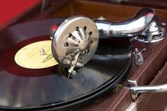 στενό gramophone επάνω Στοκ Φωτογραφία