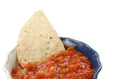 στενό salsa επάνω Στοκ Εικόνες