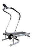 στενό treadmill επάνω λευκό στοκ φωτογραφία με δικαίωμα ελεύθερης χρήσης