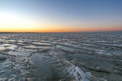 Στερεά κύματα πάγου Στοκ φωτογραφία με δικαίωμα ελεύθερης χρήσης