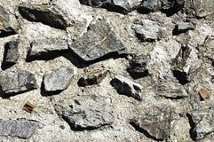 Στερεά σύσταση βράχου Στοκ φωτογραφία με δικαίωμα ελεύθερης χρήσης