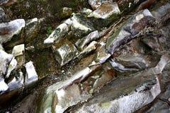 Στερεές πέτρες - φύση Στοκ εικόνα με δικαίωμα ελεύθερης χρήσης